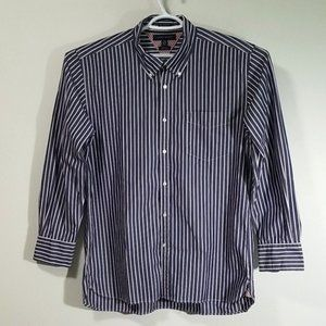 Vintage Tommy Hilfiger Stripped Button Down Shirt